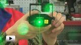 """Смотреть видео: Мини лазерный проектор """"Звездное небо"""""""