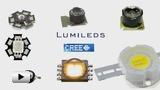 Смотреть видео: Конструктивные особенности мощных светодиодов