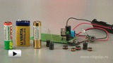 Watch video: Using Throttle in Voltage Converter as Energy Store