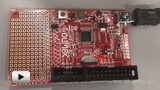 Watch video: LPC-P1343 Development Board
