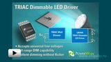 Watch video: LM3445 - Integral Control Driver for Powerful LEDs
