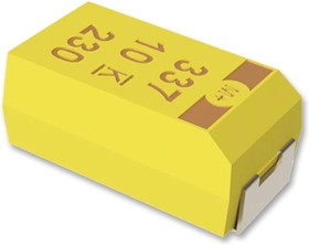 T496C106K025ATE600, Surface Mount Tantalum Capacitor, 10 мкФ, 25 В, Серия T496, ± 10%, 2412 [6032-28 Метрический]