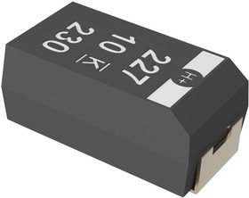 T499X336K035ATE600, Surface Mount Tantalum Capacitor, 33 мкФ, 35 В, 2917 [7343 Метрический], серия T499, ± 10%, -55 °C
