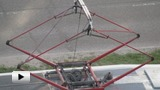 Watch video: Pantograph collector