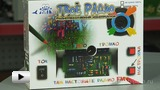 Watch video: Electronic radio kit - colouring for children's crafts