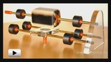 Watch video: Engine with rotor magnetic levitation