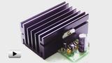 Смотреть видео: EK-1557, 2-х канальный усилитель мощности, 22Вт на канал