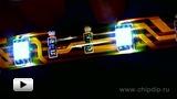 Смотреть видео: LC1-10RGB Гибкий модуль светодиодной подсветки