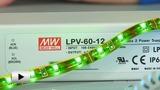Смотреть видео: Источники питания для светодиодного освещения серии LPV