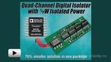 Watch video: Digital insulators of ADuM540x