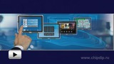 Watch video: MAX11855 and MAX11871 – 4 and 10-Touch Screen Controllers