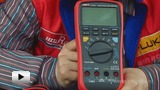 Watch video: UT533 Multimeter for Measuring Insulation Resistance