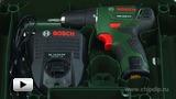 Смотреть видео: Компактная двухскоростная дрель-шуруповерт c литий-ионным аккумулятором