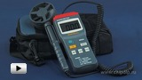 Watch video: Anemometer MS6250