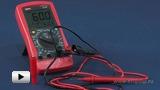 Watch video: UT105 Automobile multimeter