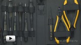 Смотреть видео: BERNSTEIN. Набор антистатических инструментов CARAT 2250