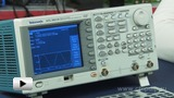 Watch video: AFG3021B Tektronix signal generator
