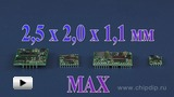 Watch video: A microminiature DCDC-transformer by Murata