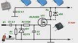 Смотреть видео: Сильноточный электронный ключ с сенсорным управлением. Схемотехника