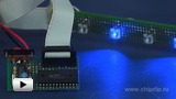 "Watch video: Automatic ""Running Fire"" LED device. Do-It-Yourself"