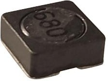 Фото 1/2 SRR6028-680Y, INDUCTOR, SHIELDED, 68UH, 0.6A, 30%, SMD