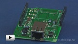 Watch video: Ethernet Shield V2, Ethernet interface to the Arduino-compatible board