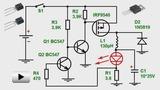 Смотреть видео: Понижающий преобразователь для ярких светодиодов. Схемотехника