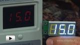 Смотреть видео: SVH0001UW-100 цифровой встраиваемый вольтметр