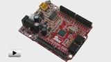 Смотреть видео: OLIMEXINO-328, отладочная плата форм-фактора Arduino