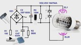 Watch video: Simple Power Supply Circuits for LED Lamps