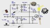Смотреть видео: Аварийный светодиодный светильник на ионисторе