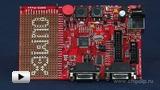 Смотреть видео: Отладочная плата SAM3-P256 для микроконтроллеров SAM3S Cortex
