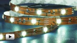 Смотреть видео: LS606 белая светодиодная лента 30 LED на метр