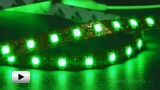 Смотреть видео: LS606 зеленая светодиодная лента 60 LED на метр