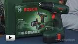 Смотреть видео: Bosch.Аккумуляторная дрель-шуруповерт PSR 18