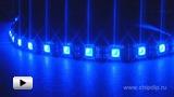 Смотреть видео: LS607 синяя светодиодная лента 30 LED на метр