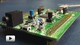 Смотреть видео: STM32F4DISCOVERY, отладочный комплект на базе ARM CortexM4-F