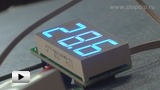 Смотреть видео: STH0014, встраиваемый цифровой термометр с выносным датчиком