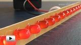 Смотреть видео: Бегущие огни на контроллере PIC12F629