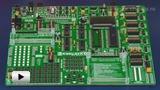 Смотреть видео: ME - EasyAVR 6, отладочная плата на базе семейства AVR от ATMEL
