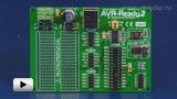 Смотреть видео: ME-AVR-Ready2, макетная плата для 28-pin  мк AVR