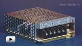Смотреть видео: NES-25-24  (24В,1.1А,25Вт) блок питания импульсный
