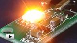Смотреть видео: Светодиодный стробоскоп SHL0015Y-1.7-жёлтый, как элемент светового оформления
