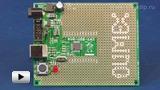 Смотреть видео: Отладочная плата AVR-USB-162 на базе микроконтроллеров AT90USB162