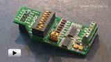 Смотреть видео: ME-EASYADC BOARD, Дочерняя плата к отладочным платам компании mikroElektronika с 12-разрядным АЦП MC