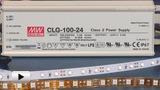 Смотреть видео: CLG-100-24, светодионый драйвер производства Mean Well