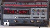 Смотреть видео: UTG9002C - генератор сигналов
