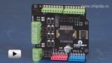 Смотреть видео: Силовой модуль управления двигателями, 2A Motor Shield for Arduino