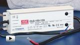 Смотреть видео: CLG-150-12A, светодиодный драйвер производства Mean Well