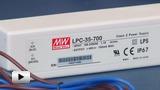 Смотреть видео: LPC-35-700, светодионый драйвер производства Mean Well
